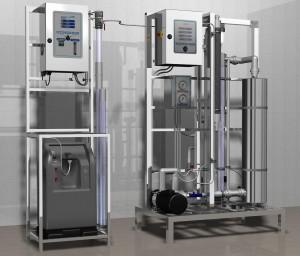 Установка озонирования воды для стерилизации (дезинфекции) тары