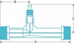 Водоструйный вакуумный эжектор Mazzei