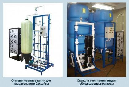 Станции озонирования воды СОВ-М